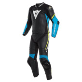 Laguna Seca 4 2pcs Suit - Zwart-Blauw-Geel