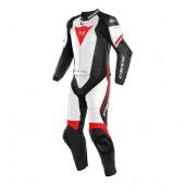 Laguna Seca 4 2pcs Suit - Mat zwart-Wit-Rood