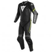 Laguna Seca 4 2pcs Suit - Zwart-Grijs-Geel