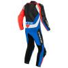 Dainese Assen 2 1 Pc. Perf. Leather Suit, Zwart-Blauw-Rood (Afbeelding 2 van 2)