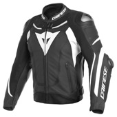 Super Speed 3 Perf. Leather Jacket - Zwart-Wit