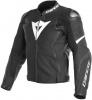 Dainese Avro 4 Perf. Leather Jacket, Mat Zwart-Wit (Afbeelding 1 van 2)