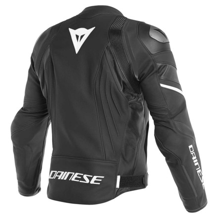 Dainese Avro 4 Perf. Leather Jacket, Mat Zwart-Wit (2 van 2)