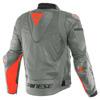 Dainese Super Race Perf. Leather Jacket, Grijs-Rood (Afbeelding 2 van 2)