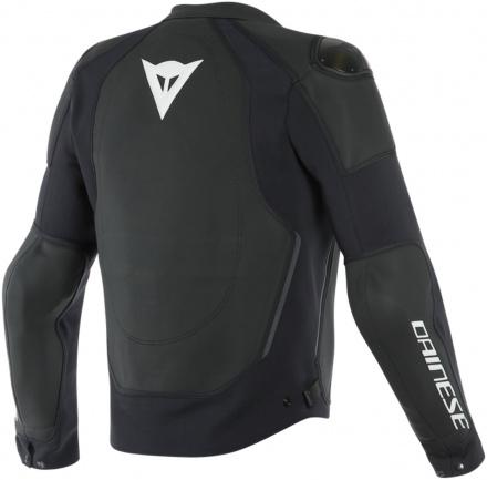 Dainese Intrepida Perf. Leather Jacket, Mat Zwart (2 van 2)