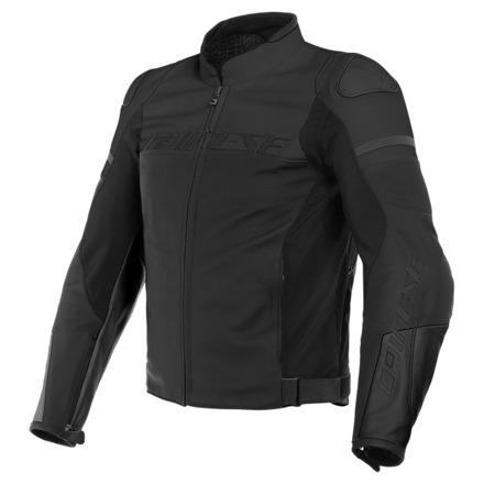 Dainese Agile Leather Jacket, Mat Zwart (1 van 2)