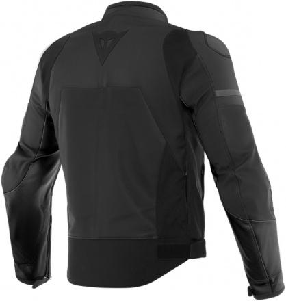 Dainese Agile Leather Jacket, Mat Zwart (2 van 2)