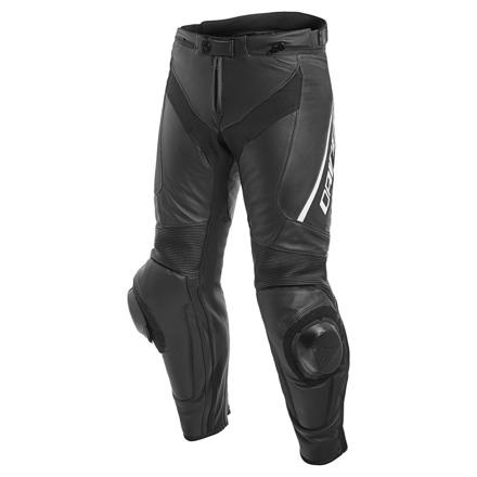Dainese Delta 3 Perf. Leren broek, Zwart-Wit (1 van 2)
