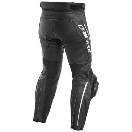Dainese Delta 3 Perf. Leren broek, Zwart-Wit (2 van 2)