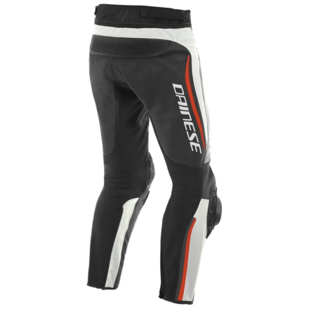 Dainese Alpha Leather Pants, Wit-Zwart-Rood (2 van 2)