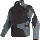 Dolomiti Gore-tex textiele motorjas - Zwart-Grijs