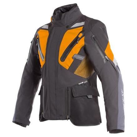 Gran Turismo Gore-tex Motorjas - Zwart-Grijs-Oranje