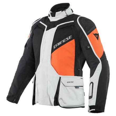 D-explorer 2 Gore-tex Motorjas - Zwart-Grijs-Oranje
