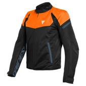 Bora Air Tex Jacket - Zwart-Oranje-Blauw