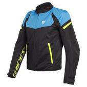Bora Air Tex Jacket - Zwart-Blauw-Geel
