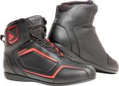 Raptors D-wp Shoes - Zwart-Rood