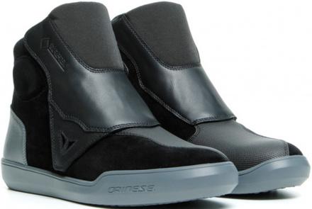 Dover Gore-Tex Motorschoenen - Zwart-Donkergrijs