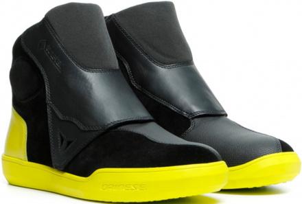 Dover Gore-Tex Motorschoenen - Zwart-Fluor