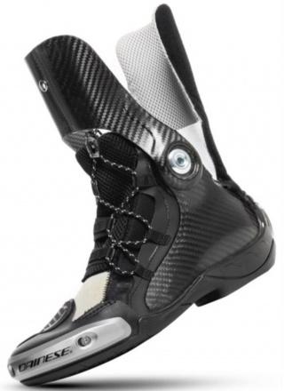 Dainese Axial D1 Air Boots, Zwart-Rood (2 van 2)