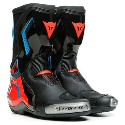 Dainese Torque 3 Out Boots Racelaars, Zwart-Rood-Blauw (1 van 1)