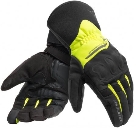Dainese X-tourer Waterdichte Handschoenen, Zwart-Fluor (1 van 1)