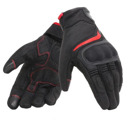 Air Master Motorhandschoenen - Zwart-Rood
