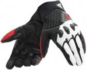 X-moto Motorhandschoenen - Zwart-Wit-Rood