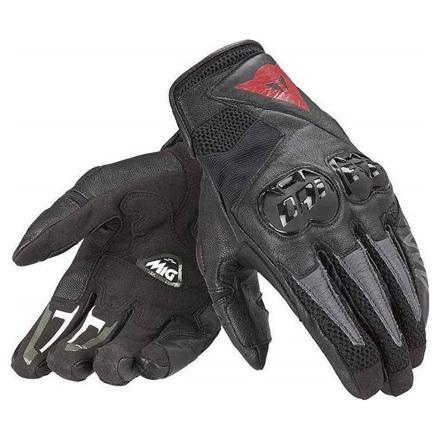 Mig C2 Unisex Motorhandschoen - Zwart
