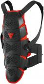 Pro-speed Rugbeschermer - Zwart-Rood