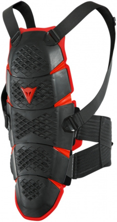 Dainese Pro-speed Rugbeschermer, Zwart-Rood (1 van 1)