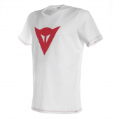 Speed Demon T-shirt - Wit-Rood
