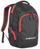 D-quad Backpack - Zwart-Rood