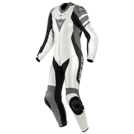Dainese Killalane 1 Pc. Perf. Lady Leather Suit, Wit-Grijs-Zwart (1 van 1)