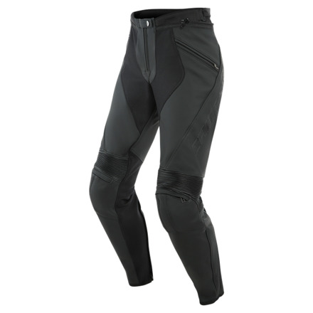 Dainese Pony 3 Lady Leather Pants, Zwart (1 van 2)