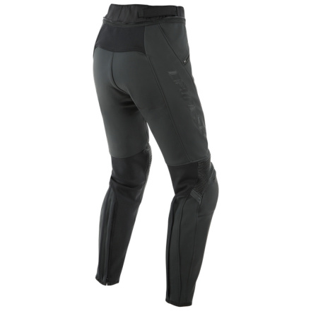 Dainese Pony 3 Lady Leather Pants, Zwart (2 van 2)