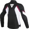 Dainese Avro D2 Textiele dames Jas, Zwart-Wit-Roze (Afbeelding 2 van 2)