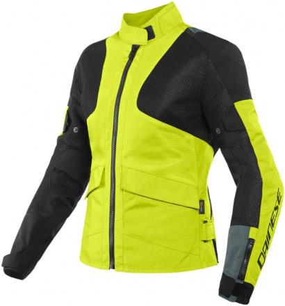 Dainese Air Tourer Lady Tex Jacket, Grijs-Zwart-Fluor (1 van 2)