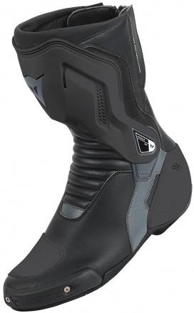 Nexus Dames Motorlaarzen - Zwart-Antraciet