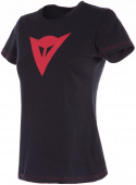 Speed Demon Lady T-shirt - Zwart-Rood