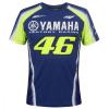 Dainese Yamaha VR46 T-shirt, Blauw-Geel (Afbeelding 1 van 2)