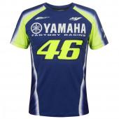 Yamaha VR46 T-shirt - Blauw-Geel
