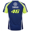 Dainese Yamaha VR46 T-shirt, Blauw-Geel (Afbeelding 2 van 2)