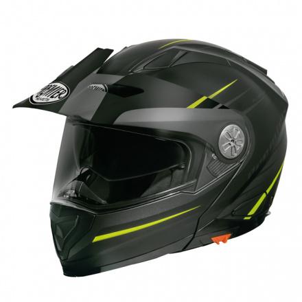 Premier Xtrail Helm Mo 1 - Zwart-Geel