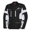 IXS Tour Jacket Evan ST, Zwart-Wit (Afbeelding 1 van 2)