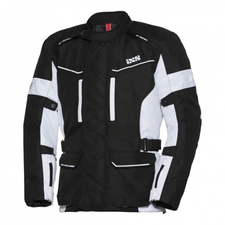 Tour Jacket Evan ST - Zwart-Wit