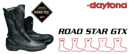 Daytona Boots Road Star GTX (breedte M), Zwart (3 van 3)