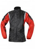 Mistral II Rain Jacket - Zwart-Rood