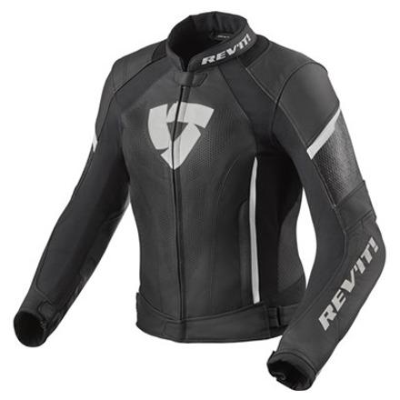 REV'IT! Jacket Xena 3 Ladies, Zwart-Wit (1 van 2)