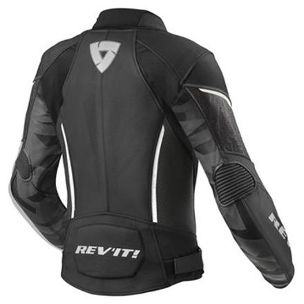 REV'IT! Jacket Xena 3 Ladies, Zwart-Wit (2 van 2)