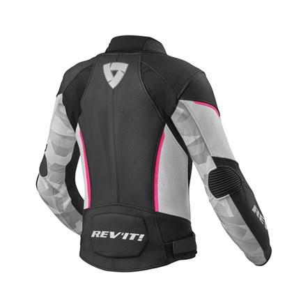 REV'IT! Jacket Xena 3 Ladies, Zwart-Roze (2 van 2)